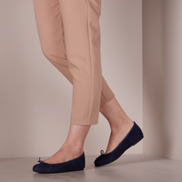 Blauwe UNISA Ballerina's ACOR - medium