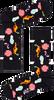 Zwarte HAPPY SOCKS Sokken PARK TURKOS SOCK  - small