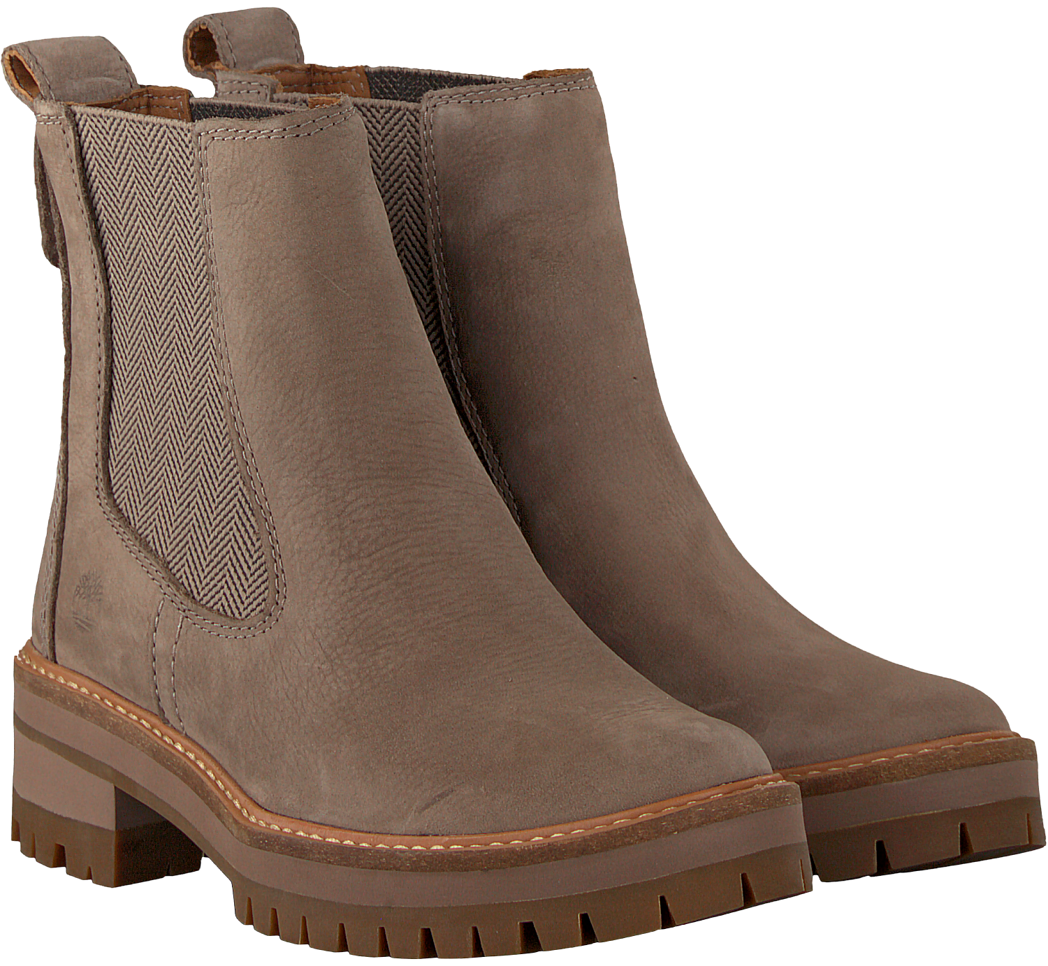 Taupe TIMBERLAND Chelsea boots COURMAYEUR VALLEY CH Omoda.nl