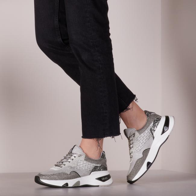 Grijze LIU JO Lage sneakers HOA 10 - large