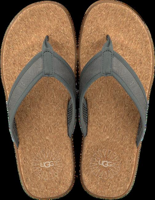 grijze UGG Slippers SEASIDE FLIP  - large