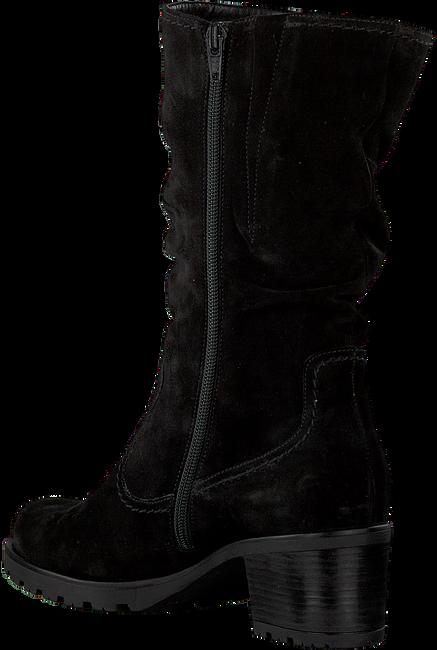 Zwarte GABOR Lange laarzen 802.2 - large