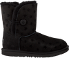 Zwarte UGG Vachtlaarzen BAILEY BUTTON II STARS  - small