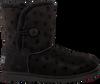 Zwarte UGG Vachtlaarzen BAILEY BUTTON II STARS  - small