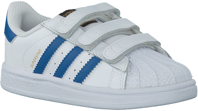 Witte ADIDAS Sneakers SUPERSTAR CF  - large