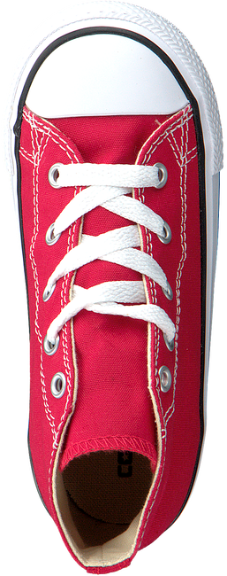 Rode CONVERSE Sneakers CTAS HI KIDS  - large
