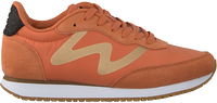 Oranje WODEN Lage sneakers OLIVIA METALLIC  - medium