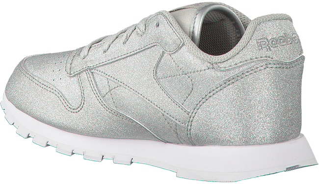 Zilveren REEBOK Sneakers CL LEATHER KIDS  - large