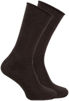 Zwarte MARCMARCS Sokken GWEN 2-PACK LANG - medium
