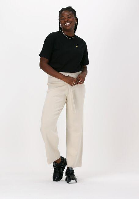 Zwarte LYLE & SCOTT T-shirt OVERSIZED T-SHIRT  - large