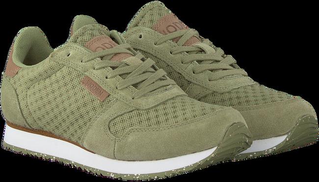 Groene WODEN Lage sneakers YDUN SUEDE MESH  - large