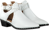 Witte BRONX Enkellaarsjes BTEX-CHUNKY  - small