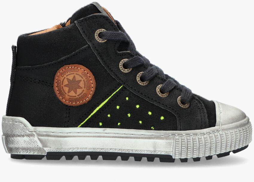 Zwarte DEVELAB Hoge sneaker 41923  - larger