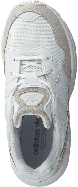 Witte ADIDAS Sneakers YUNG-96 J  - large