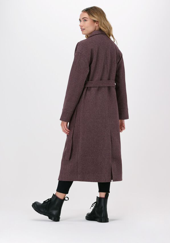 Paarse NA-KD Mantel TRENCHCOAT  - larger