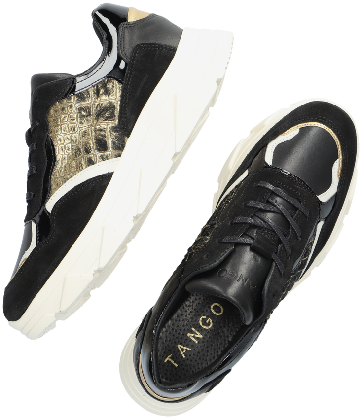 Zwarte TANGO Lage sneakers KADY FAT  - larger