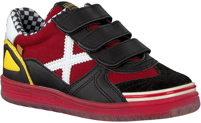 Rode MUNICH Lage sneakers G3 VELCRO  - large