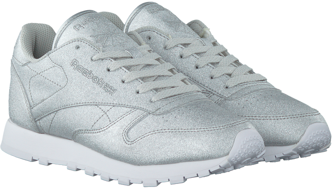 Zilveren REEBOK Sneakers CL LEATHER WMN - large