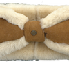 Cognac UGG  Oorwarmer BOW HEADBAND - small