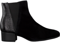 Zwarte GABOR Enkellaarsjes 812  - medium