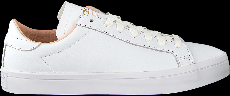 witte adidas sneakers court vantage heren