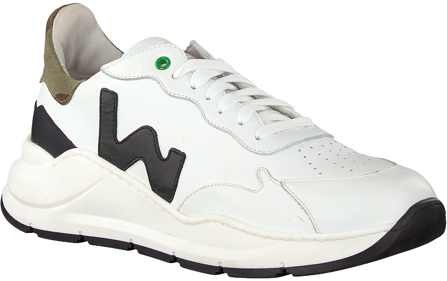 Witte WOMSH Lage sneakers WAVE | Omoda