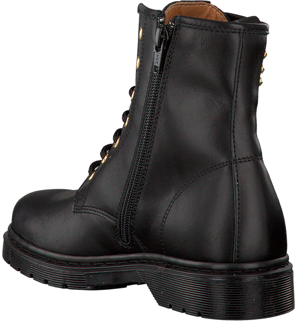 Zwarte EB SHOES Veterboots B1652  - large
