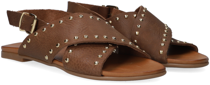 Bruine NOTRE-V Slippers 10380  - larger