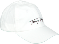 Witte TOMMY HILFIGER Pet SIGNATURE CAP  - medium