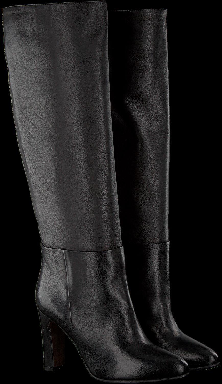 Zwarte NOTRE V Lange laarzen AH210 | Omoda