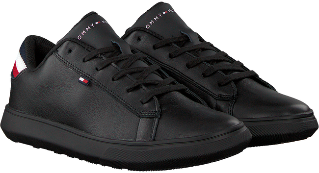 Zwarte TOMMY HILFIGER Sneakers ESSENTIAL DETAIL CUPSOLE  - large