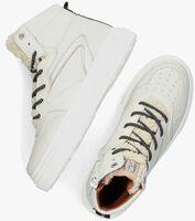 Witte RED-RAG Hoge sneaker 13144  - medium