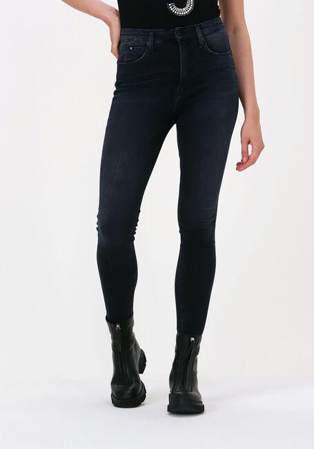 Zwarte CALVIN KLEIN Skinny jeans HIGH RISE SUPER SKINNY ANKLE - large