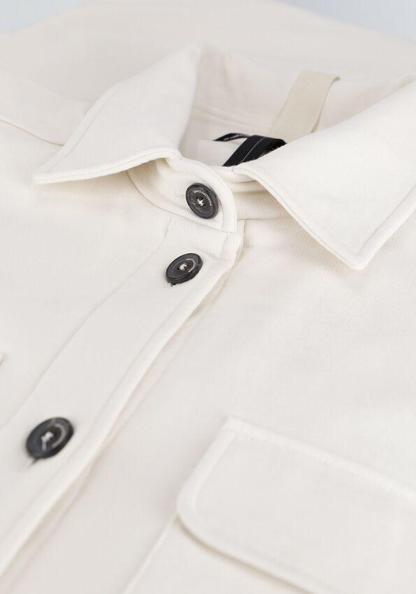 Gebroken wit 10 DAYS Vest SHIRT COAT - larger