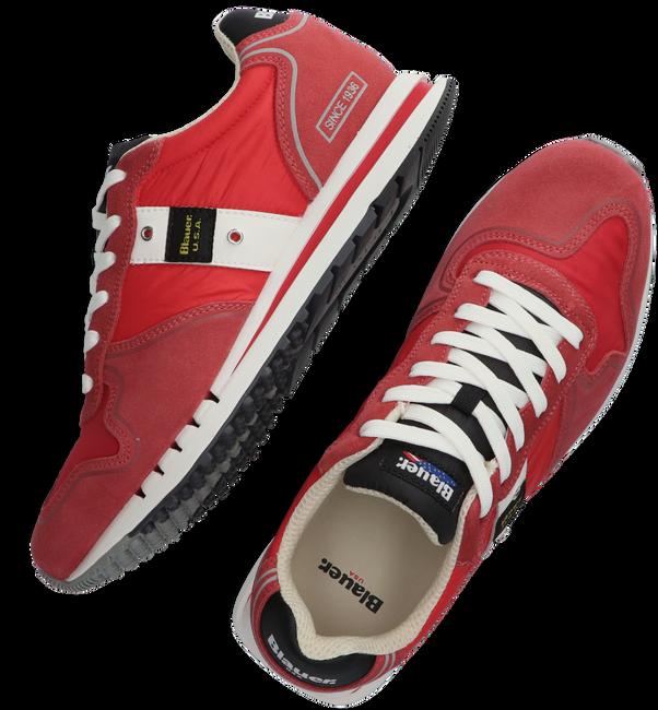Rode BLAUER Lage sneaker QUARTZ01 - large