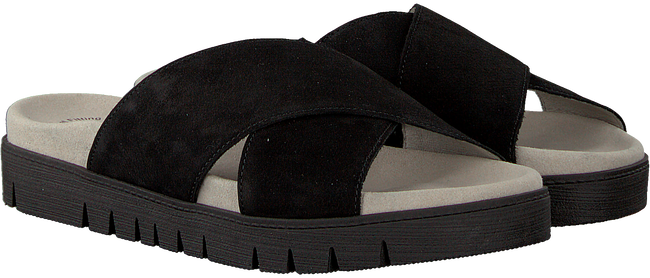 Zwarte GABOR Slippers 741 - large
