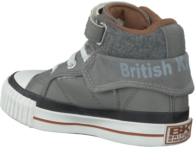 Grijze BRITISH KNIGHTS Sneakers ROCO - large