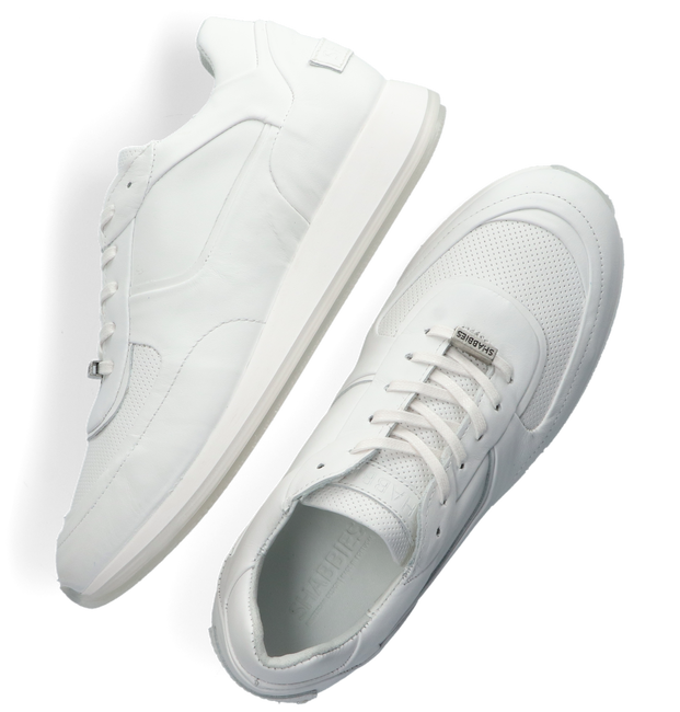 Witte SHABBIES Lage sneakers 101020093 - large