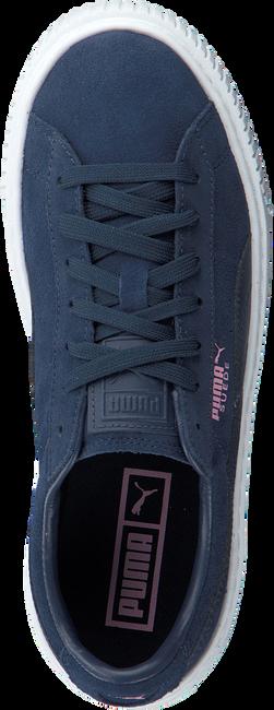 Blauwe PUMA Sneakers SUEDE PLATFORM JR  - large