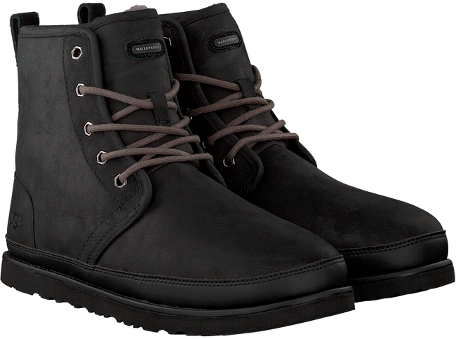 Zwarte UGG Veterboots HARKLEY WATERPROOF  - large