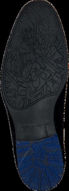 Zwarte FLORIS VAN BOMMEL Veterschoenen 10947 - large
