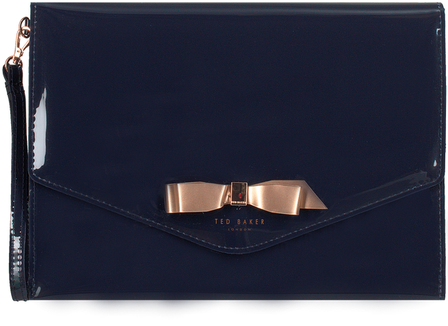 Blauwe TED BAKER Clutch CERSEI  - large