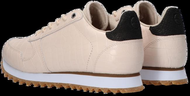Roze WODEN Lage sneakers YDUN CROCO SHINY - large