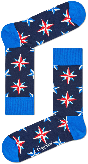 HAPPY SOCKS Sokken NAUTICAL STAR - large
