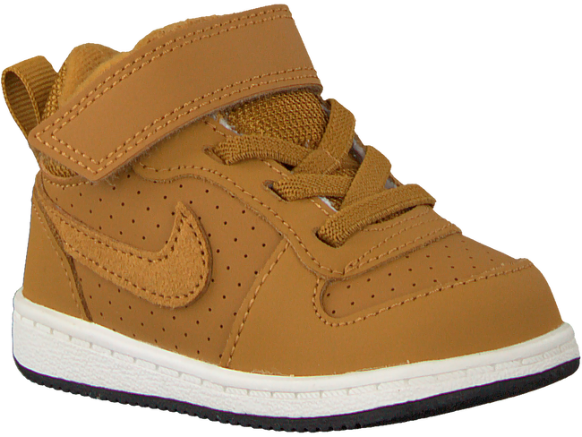 Gele NIKE Sneakers COURT BOROUGH MID (KIDS) - large