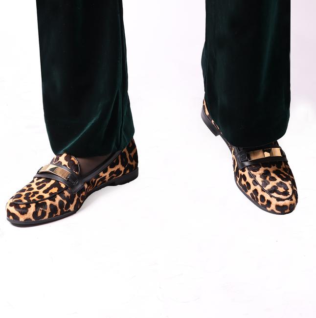 Bruine MICHAEL KORS Loafers PALOMA LOAFER - large
