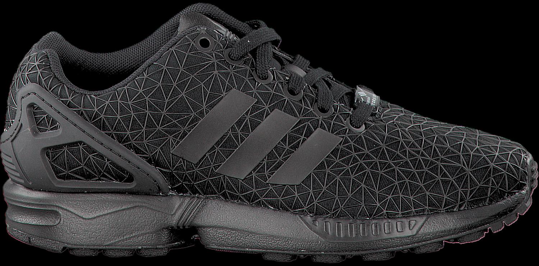 Zwarte ADIDAS Sneakers ZX FLUX DAMES   Omoda