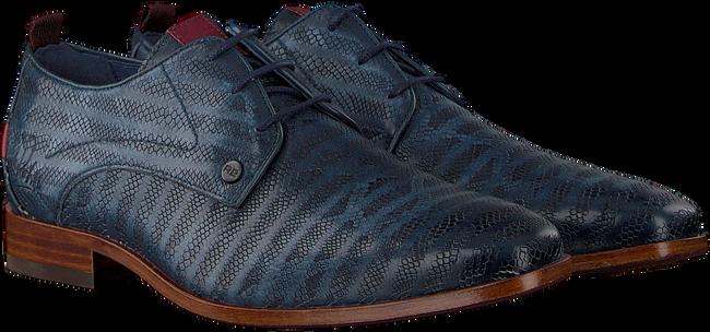 Blauwe REHAB Nette schoenen GREG SNAKE STRIPES - large
