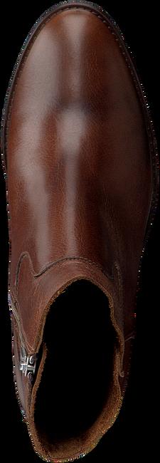 Bruine SHABBIES Enkellaarsjes 183020170  - large