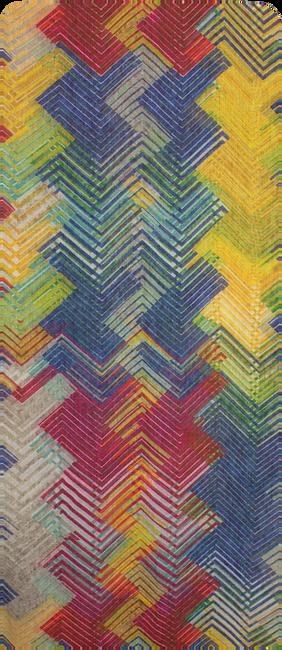 Meerkleurige ROMANO SHAWLS AMSTERDAM Sjaal SHAWL ZIGZAG  - large